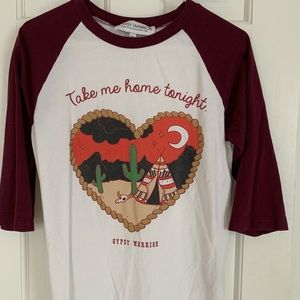 Take Me Home Tonight baseball Gypsy Warrior top